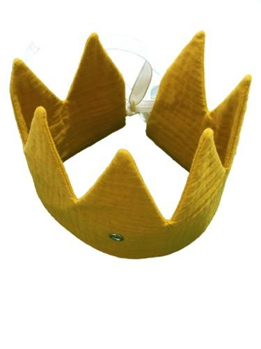 Verjaardagskroon geel